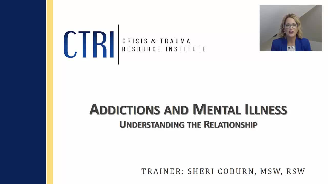 On Demand Webinar Addictions And Mental Illness Understanding The